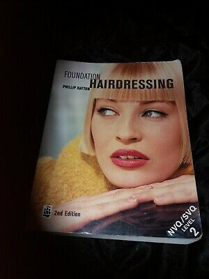 £10 • Buy Foundation Hairdressing: NVQ Level 2 By Hatton, Phillip Paperback Book.