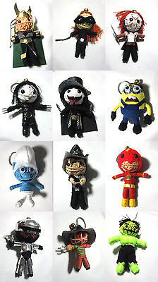 £4.99 • Buy Voodoo String Doll Charter Movie Keychain Ornament Accessory Gift # Set 2