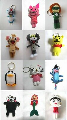 £4.99 • Buy Voodoo String Doll Charter Movie Keychain Ornament Accessory Gift Set #19