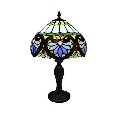 £62.99 • Buy Tiffany Lamp Table Lamp Stained Glass Desk Lamp Dragonfly Pattern Tiffany Style