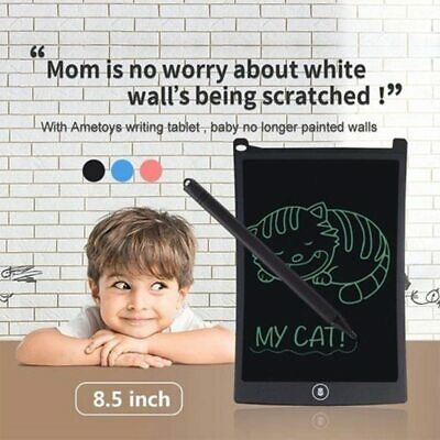 AU14.99 • Buy New Kids Learning Tablet Drawing Board Writing Pad W/ 1-Button Clear & Lock