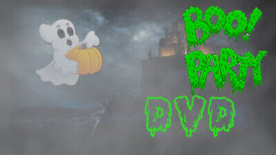 £6.50 • Buy ∞boo Party∞digital Window Halloween Decorations For Projector Dvd Format
