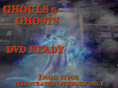 £6.50 • Buy ∞ghouls N Ghosts∞ -digital Window Halloween Decorations For Projector Dvd Format