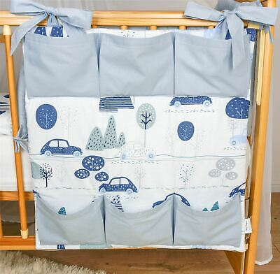 £14.07 • Buy Nursery Cot Tidy Organiser With Pockets 60x60 Cm For Cot Bed