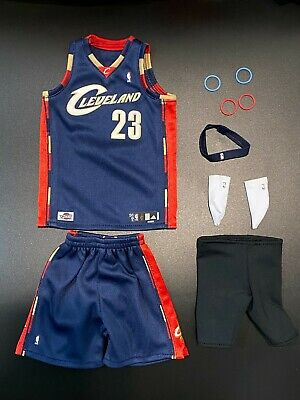 $90 • Buy Enterbay 1/6 Action Figure High Quality Lebron James 2007 LBJ Cleveland Jersey
