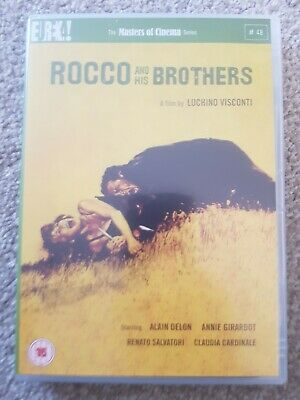 £9.99 • Buy Rocco And His Brothers - 1960 Eureka Masters Of Cinema Dvd - Luchino Visconti