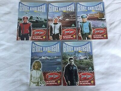 £20 • Buy Captain Scarlet DVD 2004 The Supermarionation Complete Collection