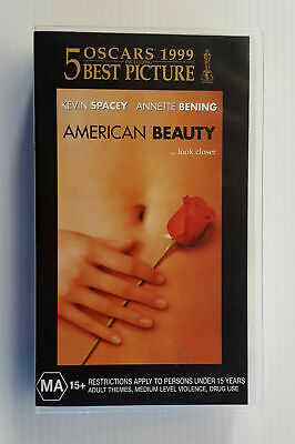 AU21.99 • Buy Best Picture Oscar 1999  American Beauty  Pal Vhs Video Movie Kevin Spacey