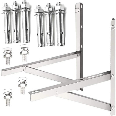 £36.49 • Buy Foldable Wall-Mounted Air Conditioner Bracket For Small Split Type Non-Rusting
