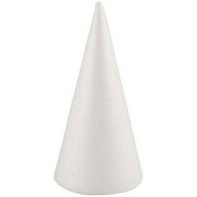 £5.69 • Buy Polystyrene Solid Cone Shape Christmas Tree Styrofoam Forms Molds For Decal #N1