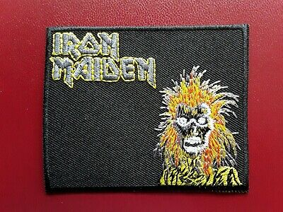 £3.49 • Buy Iron Maiden Heavy Metal Punk Rock Pop Music Band Embroidered Patch Uk Seller