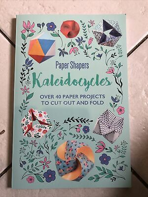 £4.99 • Buy Kaleidocycles Paper Shapers (cut Out Craft) Paperback Book By • Frankie Jones