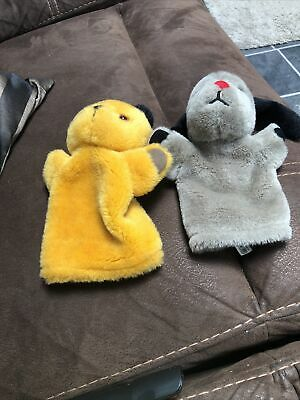 £15 • Buy Sooty And Sweep Hand Puppets ( Sweep Has Working Squeaker)