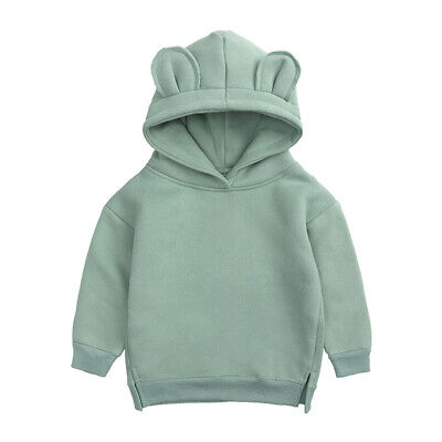 £10.99 • Buy Kids Tales Bear Pullover Hoodie With 3D Ears - Green - Size: 5-6 Years - New
