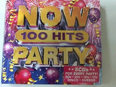 £6.95 • Buy Now 100 Hits Party: 5 CDs New & Sealed