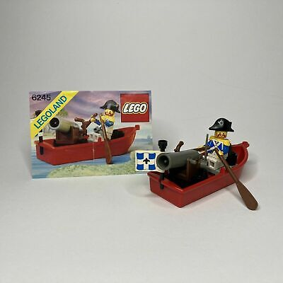£16.95 • Buy Lego 6245 Pirates HARBOR SENTRY Complete W/Instructions & Shooting Cannon Vgc