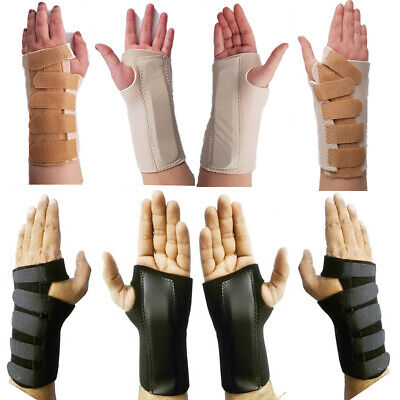 £4.15 • Buy Hand Wrist Brace Support Carpal Tunnel Splint Fractures Right Left S M L XL NHS