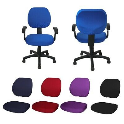 AU21.95 • Buy Stretchy Removable Swivel Computer Chair Cover Office Seat Covers Slipcover Case