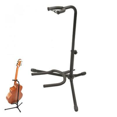 $ CDN26.52 • Buy Aluminum Alloy Floor Guitar Stand With Stable Tripod Holder For Guitar Bass