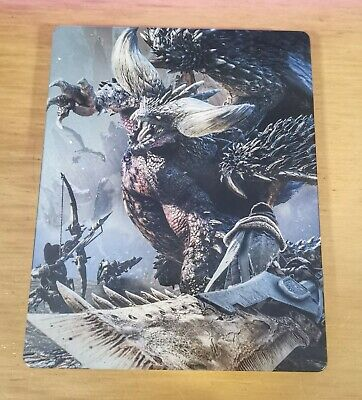 AU47.50 • Buy Monster Hunter World Steelbook & Game - Microsoft Xbox One *Great Condition*
