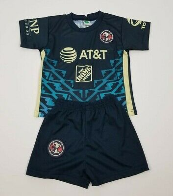$20 • Buy New Club America Kid's Jersey Soccer Outfit Jersey And Shorts