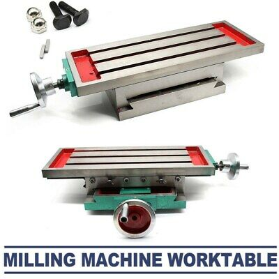 $169 • Buy Multifunction XY Axis Cross Slide Table Drill Stands Milling Machine 17.7 *6.7