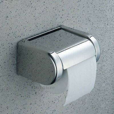 AU26 • Buy Bathroom Toilet Paper Roll Holder Tissue Box Roll Paper Dispenser With Cover