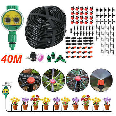 £22.99 • Buy 160PC Automatic Drip Irrigation System Kit Plant Timer Self Watering Garden Hose