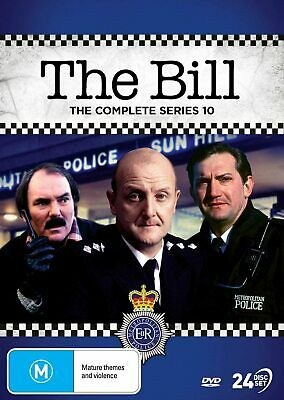 £129.99 • Buy THE BILL COMPLETE SERIES 10 DVD 10th Tenth Season Ten 24 DISC SET NEW & SEALED