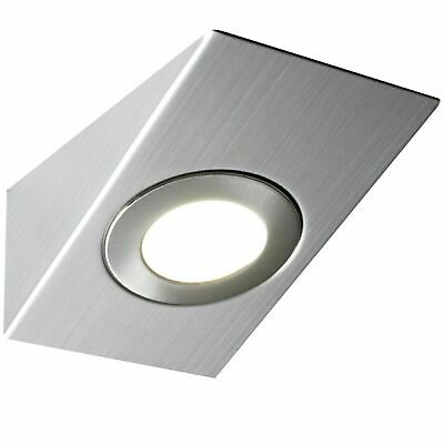 £8.99 • Buy LED Mains Kitchen Under Cabinet Cupboard Counter Wedge Light Unit Lamp Lights
