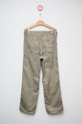 £34.90 • Buy Authentic Carhartt WIP Simple Chino Pant Beige Size 33x32