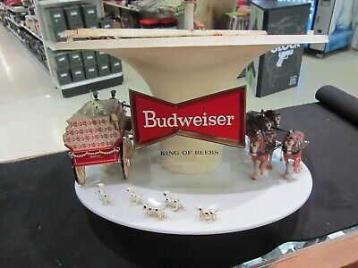 $ CDN377.65 • Buy Budweiser Clydesdale Parade Rotating Carousel Light PARTS ONLY