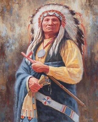 £6.99 • Buy 10 X 8  NATIVE AMERICAN RED INDIAN CHIEF METAL PLAQUE TIN SIGN OTHERS LISTED 850