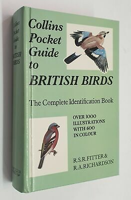 £6.95 • Buy FITTER Collins Pocket Guide To British Birds: Complete Identification Book