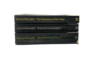 £7.99 • Buy Dennis Wheatley 3 Books Collection Vintage Books