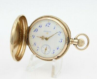 £48.89 • Buy Antique 1891 Elgin National Watch Co. Pocket Watch 6s Double-hunter Wb73-6