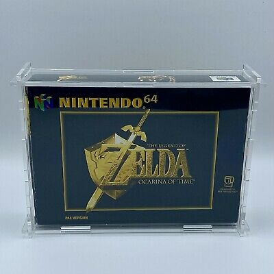 £350 • Buy The Legend Of Zelda: Ocarina Of Time   N64   Collectors Condition (Half Sealed)