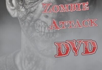 £6.50 • Buy ∞zombie Attack∞ -digital Window Halloween Decorations For Projector Dvd Format