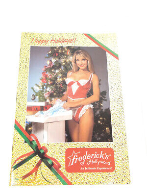 $29.99 • Buy Frederick's Of Hollywood 1989 Catalog Intimate Christmas 9800 65/348 Lingerie
