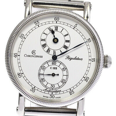 £1584.83 • Buy Chronoswiss Regulator Small Seconds White Dial Automatic Men's Watch_627988