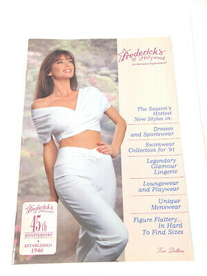 $29.99 • Buy Frederick's Of Hollywood 1991Catalog Intimate Experience 1200 72/360 Lingerie 45