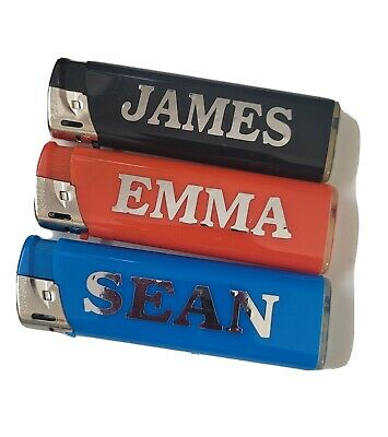 £1.50 • Buy Electronic Personalised Lighters