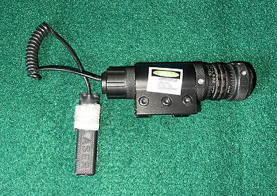 $164.99 • Buy US Military Surplus Green Dot Laser With Mount - NS 0204-002-L532