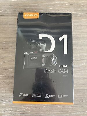 AU102.68 • Buy Kingslim Dash Cam With GPS, 1080P Front And Rear Dual Dash Camera For Cars, Park