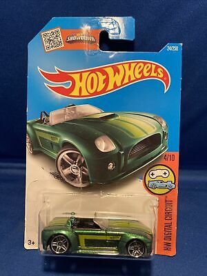 £0.72 • Buy Hot Wheels 2016 Digital Circuit Series Ford Shelby Cobra Concept Green #24/250