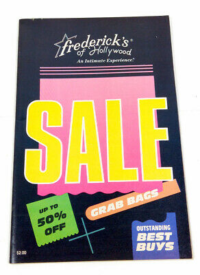 $24.99 • Buy Frederick's Of Hollywood 1988 Catalog Intimate Experience 9100 61/339 Lingerie