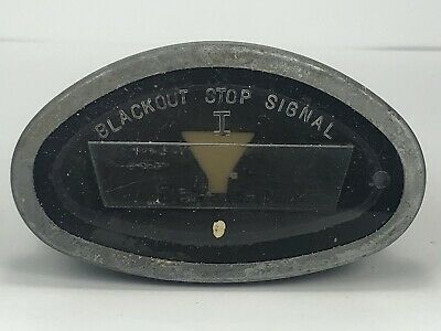 $22.99 • Buy WWII Military Black Out Stop Signal Tail Lamp Light 6V Cosmoline, 84934-J