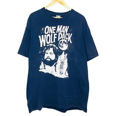 £16.03 • Buy The Hangover One Man Wolf Pack Mens T-Shirt Size XL Blue 2011 Movie Warner Bros