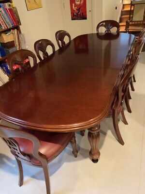 AU1990 • Buy Mahogany Dining Extendable Table And Chairs