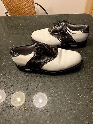 $22.40 • Buy FOOTJOY CLASSICS TOUR MENS GOLF SHOES Size 12 Made In USA